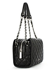 Michael Kors Leather Quilted Satchel Bag