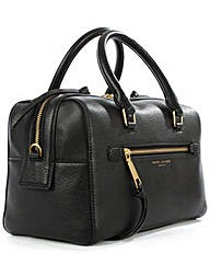 Marc Jacobs Black Leather Bowler Bag