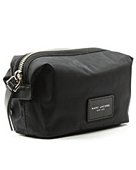 Marc Jacobs Black Nylon Cosmetic Pouch