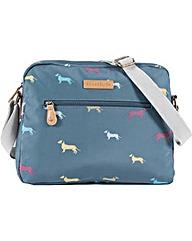Brakeburn Sausage Dog Shoulder Bag