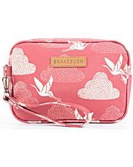 Brakeburn Cranes Small Wash Bag
