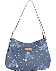 Brakeburn Birds & Waves Hobo Bag