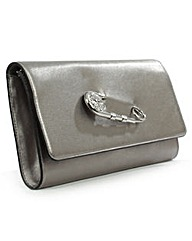 Versace Jeans Silver Clutch Bag