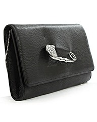 Versace Jeans Black Clutch Bag