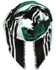 Marc Jacobs Green Wool Shawl