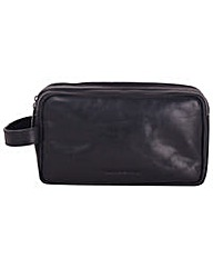 Smith & Canova Double Zip Top Washbag