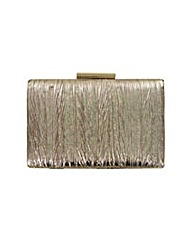 Metallic Textured Clutch Bag