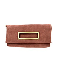 Fold over soft clutch