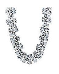 Mood Tonal crystal statement necklace