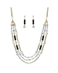 Mood Monochrome multi jewellery set