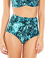 Deep Sea High Waist Brief