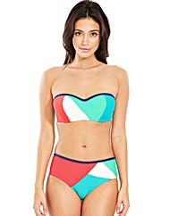 Cape Underwired Bandeau Bikini Top