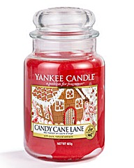 Yankee Candle Candy Cane Lane Large Jar
