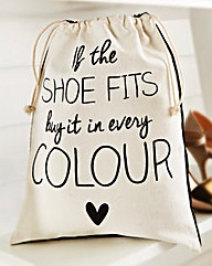 If The Shoe Fits Shoe Bag