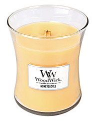 WoodWick Honeysuckle Medium Jar