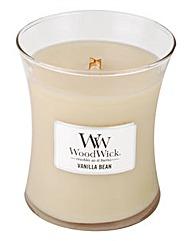 WoodWick Vanilla Bean Medium Jar