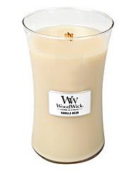 WoodWick Vanilla Bean Large Jar