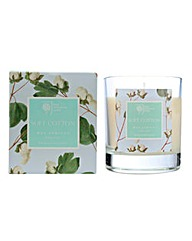 RHS Soft Cotton Boxed Candle