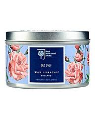 RHS Rose Tin Candle