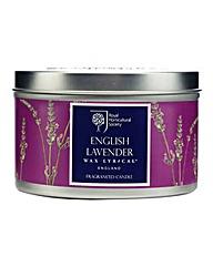 RHS Lavender Tin Candle