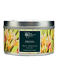 RHS Freesia Tin Candle
