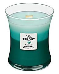 WoodWick Trilogy Ocean Escape Medium Jar