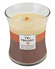 WoodWick Trilogy Sunset Bonfire Medium