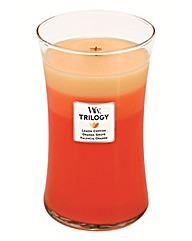 WoodWick Trilogy Citrus Burst Large Jar