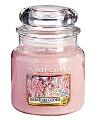 Yankee Candle Snowflake Cookies Medium