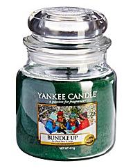Yankee Candle Bundle Up Medium Jar