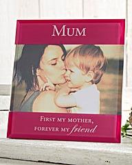 Mum Glass Photo Frame