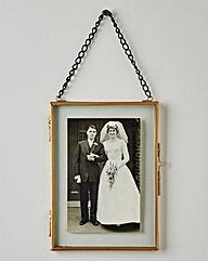 Vintage Style hanging Photo Frame