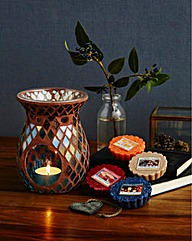 Yankee Candle Harvest Time Warmer Set