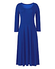 Cobalt Jersey Maxi Dress - L52