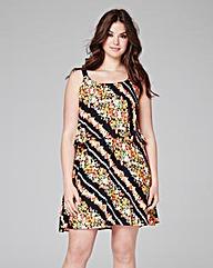 Strappy Layered Cami Dress