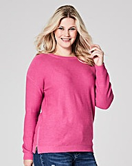 Orchid Pink Jumper with side zips