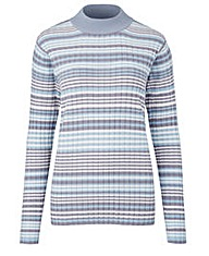 Stripe Rib Jumper