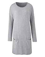 Grey Marl Tunic with Pockets