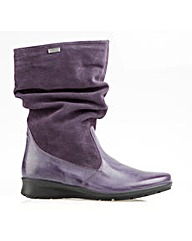 Heath Purple Boot