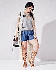 Maxi Crochet Cardigan