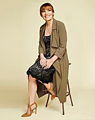 Lorraine Kelly Trench Coat