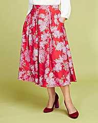 Lorraine Kelly Floral Print Full Skirt
