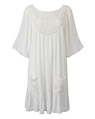 Martine McCutcheon Crochet Smock Dress