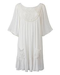 Martine McCutcheon Crochet Smock Dress