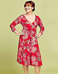 Lorraine Kelly Print Wrap Dress