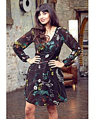 Jameela Jamil Floral Print Dress