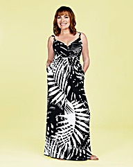 Lorraine Kelly Print Wrap Maxi Dress
