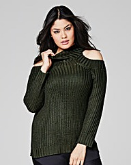 Cold Shoulder Jumper
