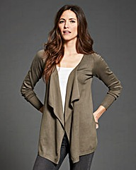 Silver Sage Waterfall Cardigan
