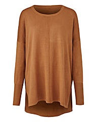 Toffee Boxy Jumper